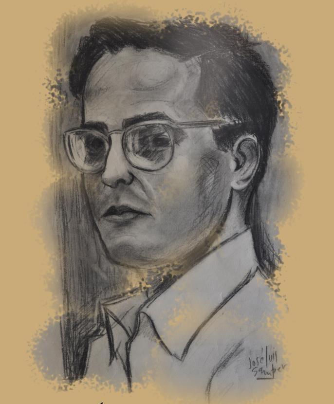 Autoretrato José Luis Samper Museo pintor