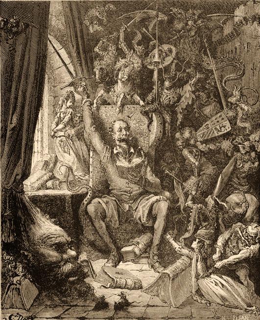 Las ilustraciones de El Quijote de Gustave Doré