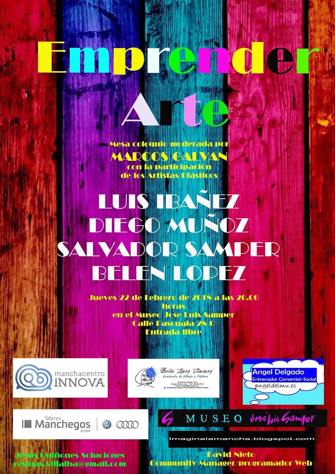 «Emprender Arte» en el Museo Samper, el próximo 22 de febrero
