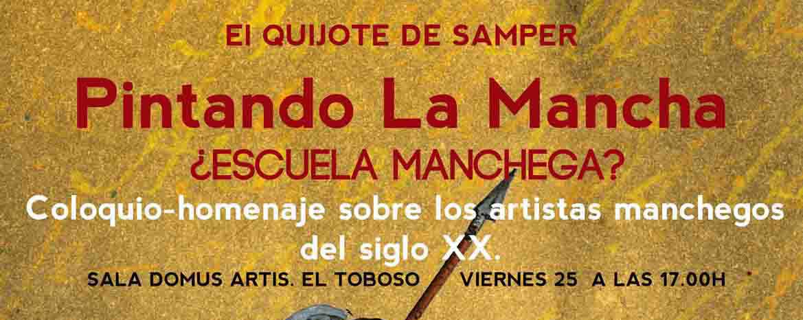 Coloquio-homenaje: Pintando La Mancha