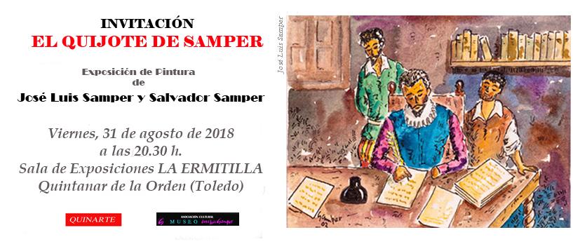 """""""El Quijote de Samper"""", una nueva exposición en Quintanar de la Orden"""