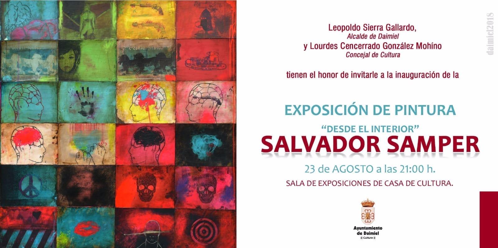 Daimiel acoge la nueva exposición del artista Salvador Samper