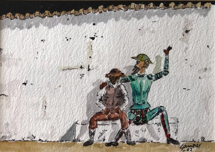 «El Quijote de Samper» visita Ciudad Real