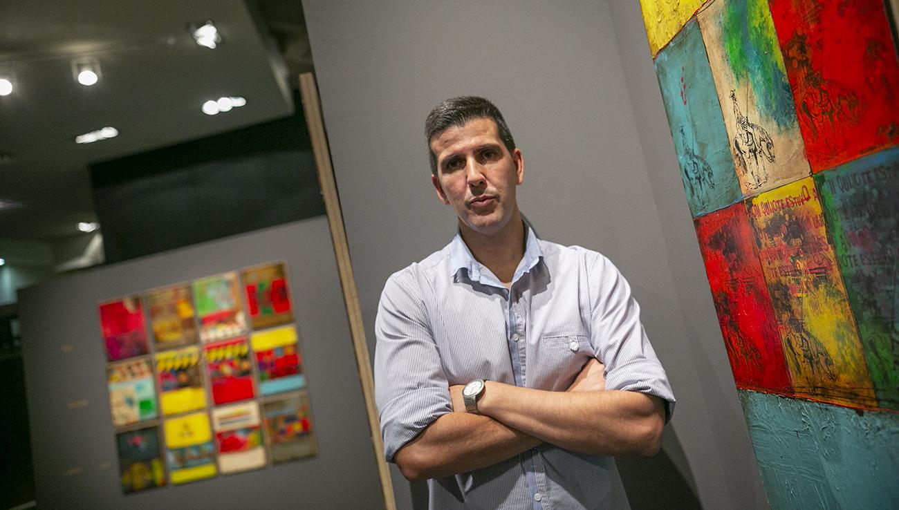 4000 visitas en la exposición «El Quijote de Samper» en Ciudad Real