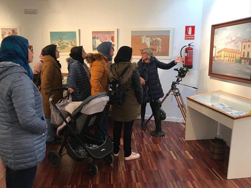 El Museo José Luis Samper recibe una visita muy especial