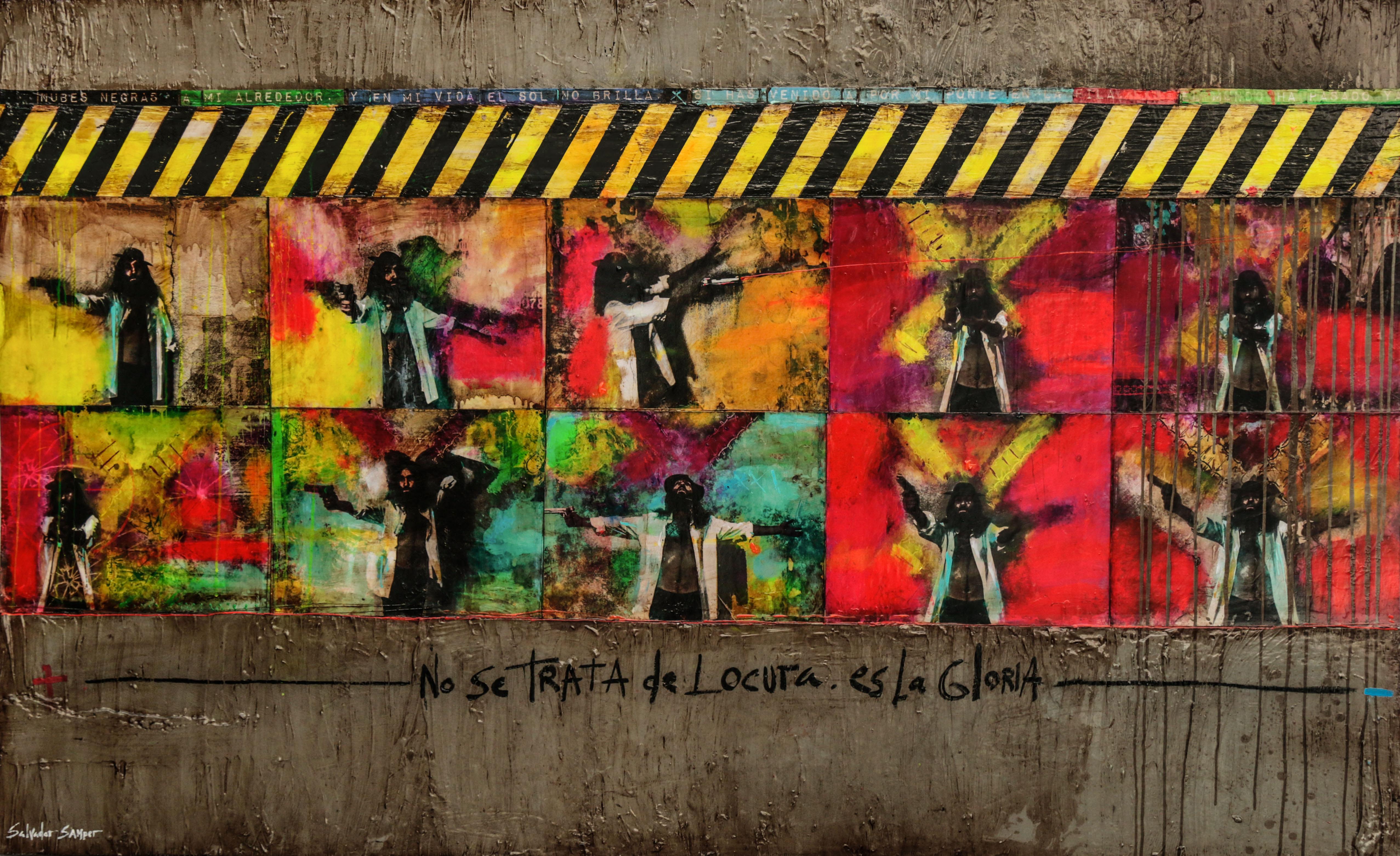 Exposición «El Quijote de Samper» en la Casa de la Cultura de Daimiel