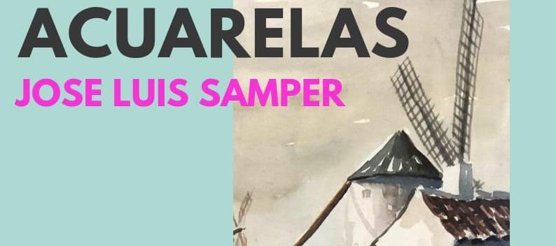 «ACUARELAS», nueva exposción en el Museo José Luis Samper
