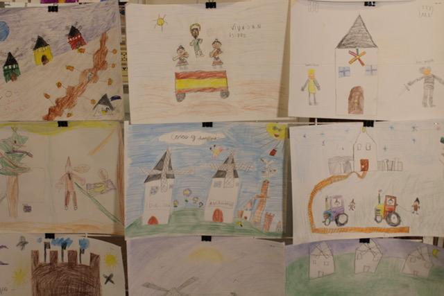 Éxito de participación en la XIV edición del Certamen Infantil de Dibujo «José Luis Samper»