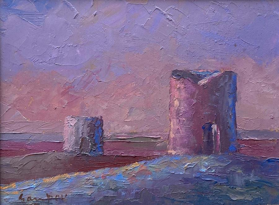El molino 'El Doncel', inpiración para el arte y cobijo de la artista